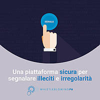 Whistleblowing – Procedure per le segnalazioni di illeciti
